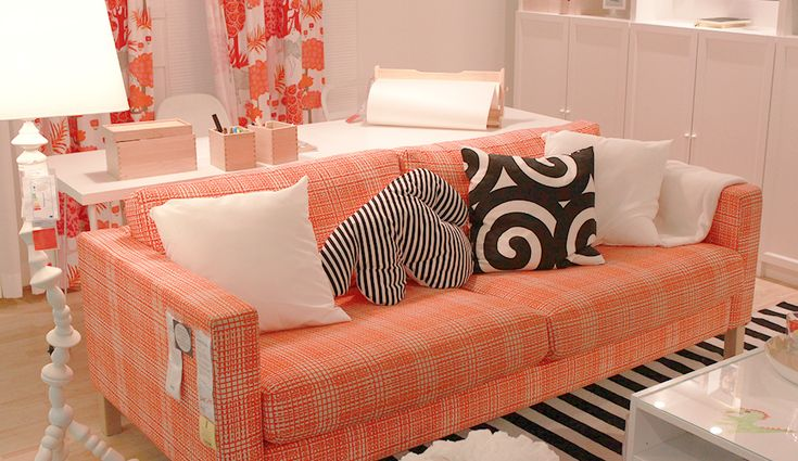Find This Pin And More On For My IKEA Orange Sofa By Maryam Ghafouri.