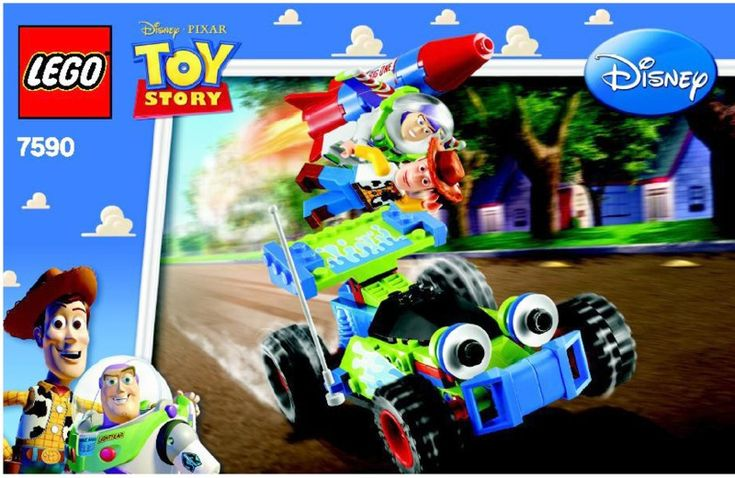 Toy story woody and buzz to the rescue lego 7590 kid - Lego toys story ...