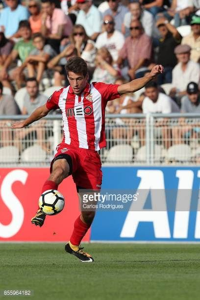 Aves forward Alexandre Guedes from Portugal during the match between Portimonense SC and Deportivo das Aves for the Portuguese League Cup at Portimao...