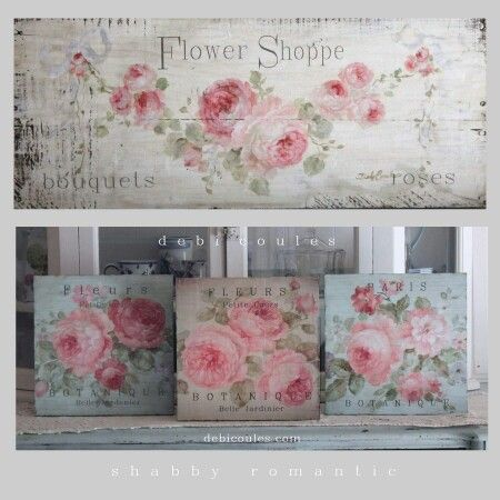 Flower  - shabby chic