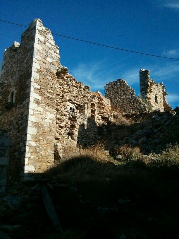 Ruins in Mani