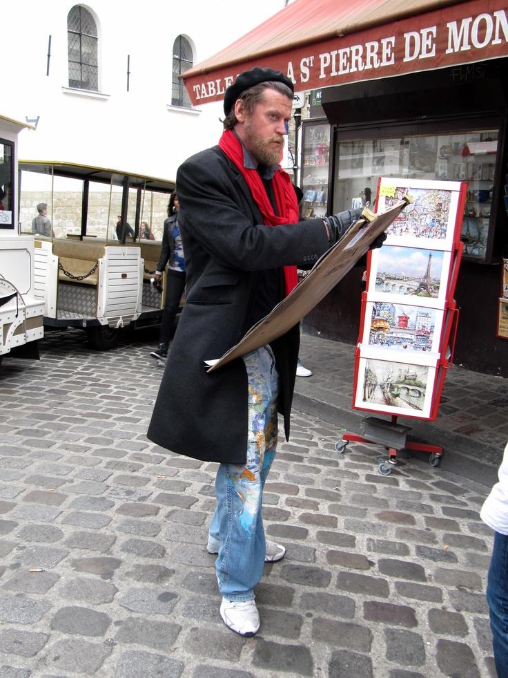 Portrait painter, Montmarte