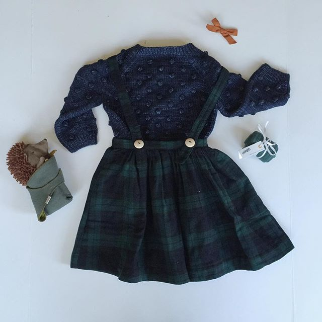 Soor Ploom, Misha and Puff, Free Babes Handmade. Adorable girls winter style.;