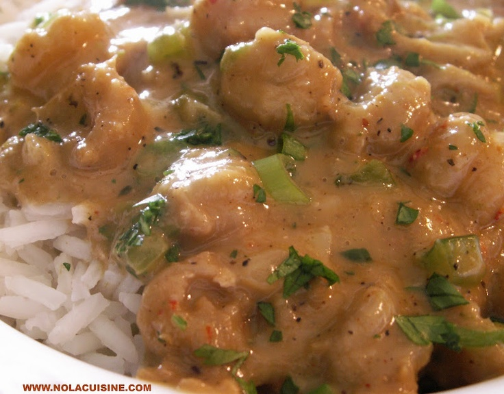 Crawfish Etouffee, this turned out fantastic. substituted coconut flour for the flour and added a pound of crab and shrimp. delish!