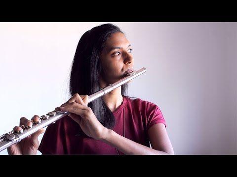 How Far I'll Go - Auli'i Cravalho (Moana) - Flute Cover - YouTube