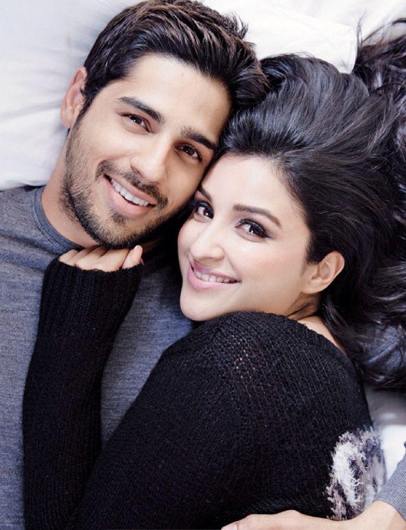 Sidharth Malhotra and Parineeti Chopra #Hot #Fashion #Style #Obsession #Bollywood #India #Photoshoot #SidharthMalhotra #ParineetiChopra
