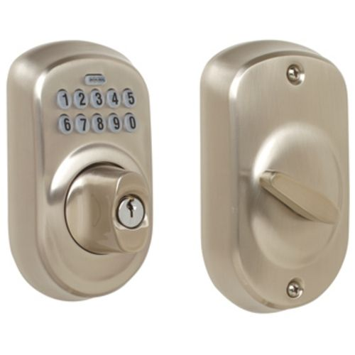 Schlage Keypad Deadbolt | BE365-PLY-619 | Destination Lighting