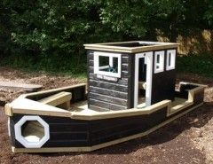 Playhouse Boat