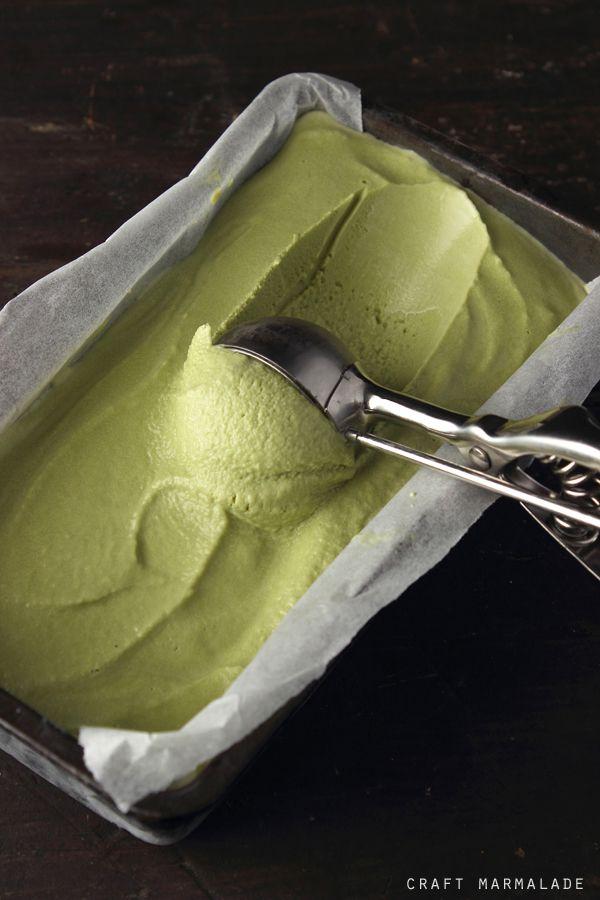 Gelato al Tè Matcha (http://craftmarmalade.blogspot.com.ar/2014/04/gelato-al-te-matcha.html)