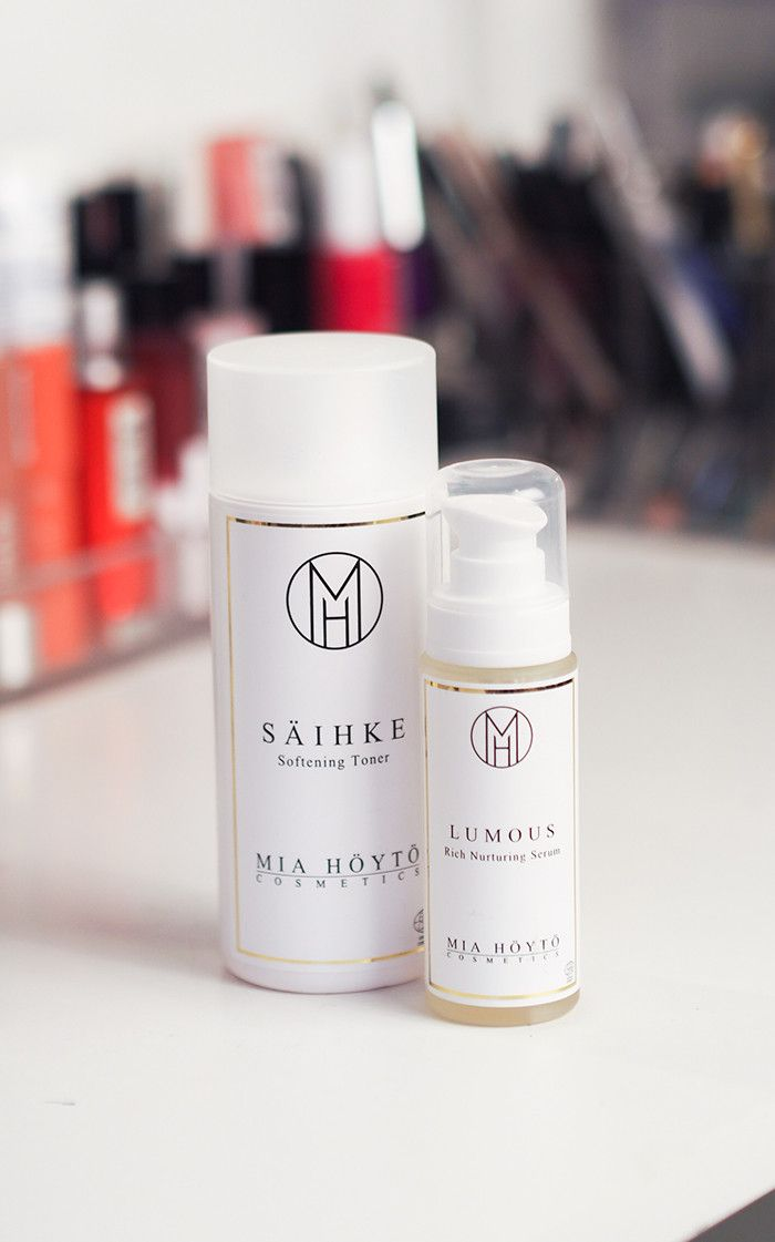 säihke and lumous by mia höytö cosmetics