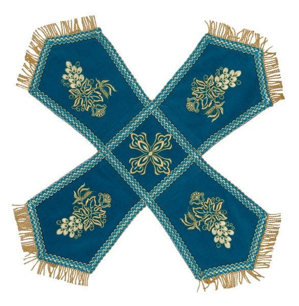 Chalice сovers velvet, $130.00, handmade. Catalog of St Elisabeth Convent. #catalogofgooddeed #embroidery #church #chalice #covers #veil #buy