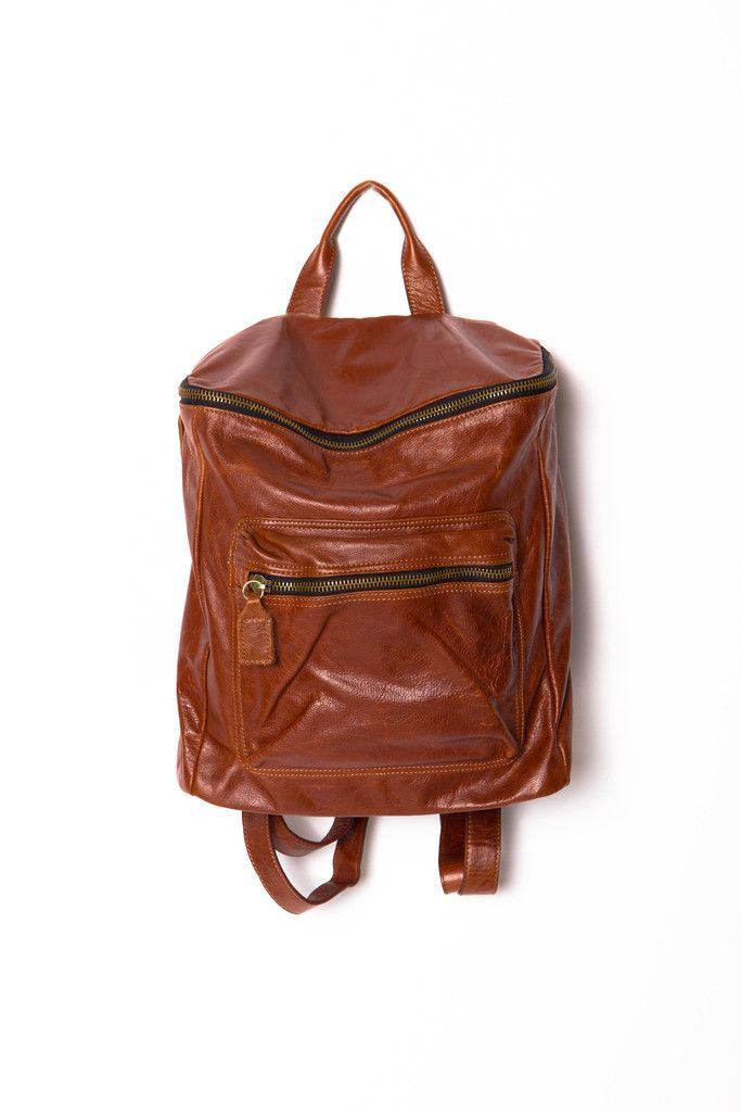 St. Germaine Leather Backpack bag bags follow followme