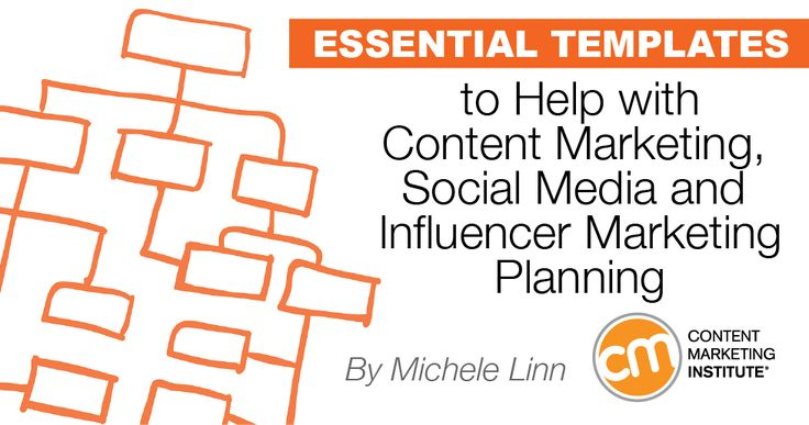 You LOVE templates. We love to share them. Not only can they improve your content marketing planning, they help you track your efforts. Here are 10 templates to help you be more effective in social, editorial, and influencer outreach.