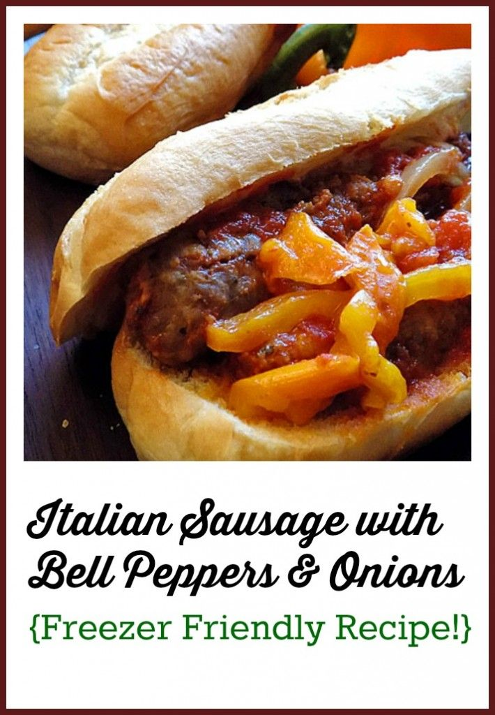 Italian sausages, Freezers and Sausages on Pinterest