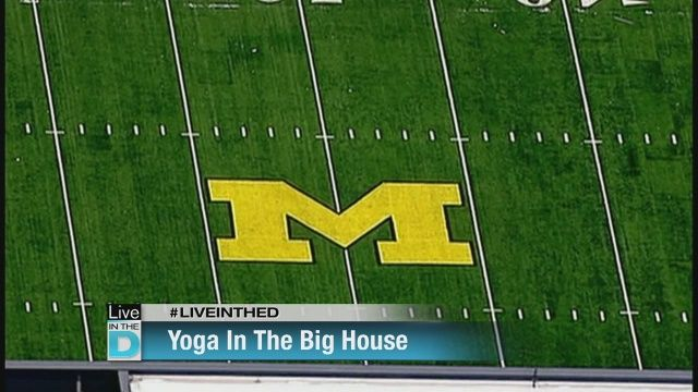 A world record for largest yoga session will be attempted this weekend at U of M's football stadium, to benefit the Police Athletic League.