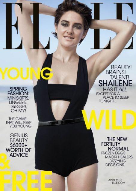 Shailene Woodley - Elle Magazine Cover [United States] (April 2015)