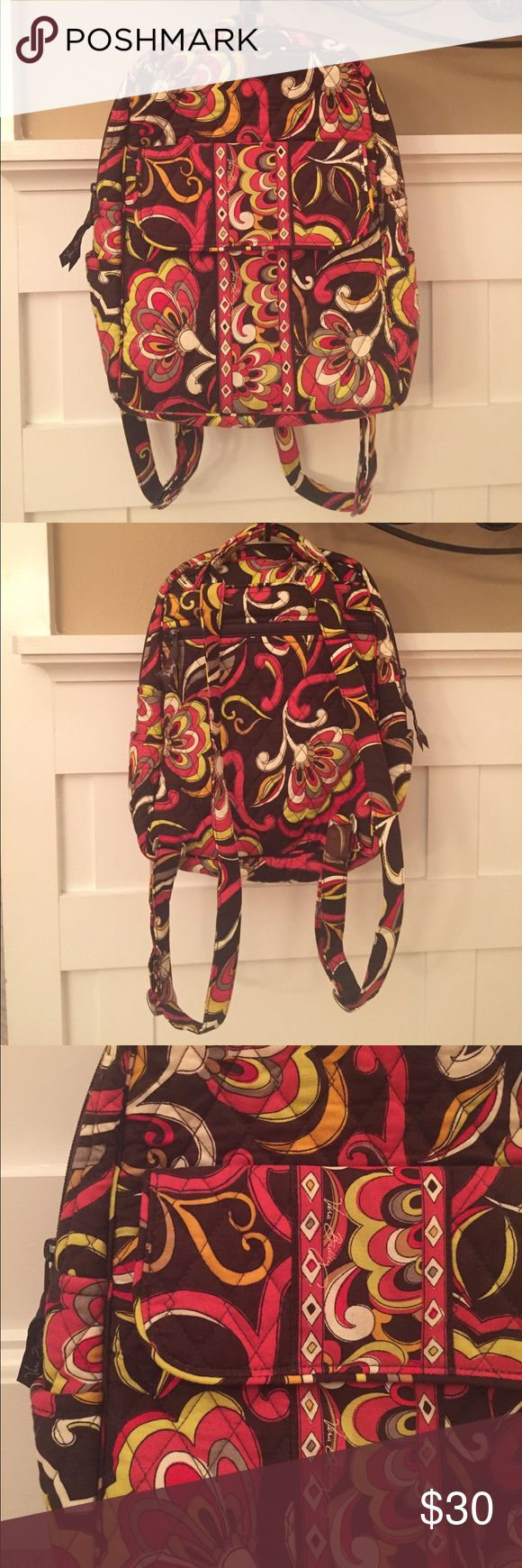 ✨SALE✨ Vera Bradley Backpack 🍁 Puccini Fall favorite! This backpack is in nearly perfect condition, as shown! Vera Bradley Bags Backpacks