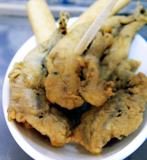 Boquerones en adobo fritos - Divina Cocina. Interesante web