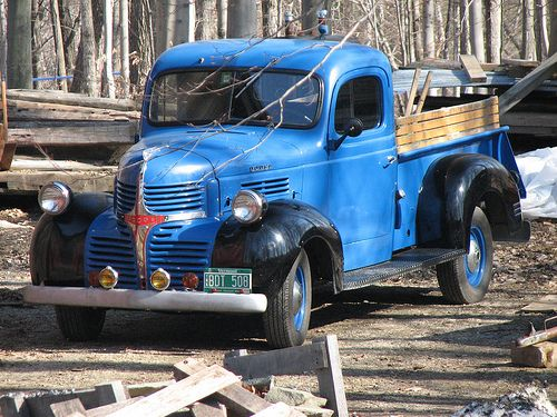 Antique Dodge Truck - better color - still don't know the year.