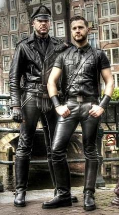 Pics Gay leather master
