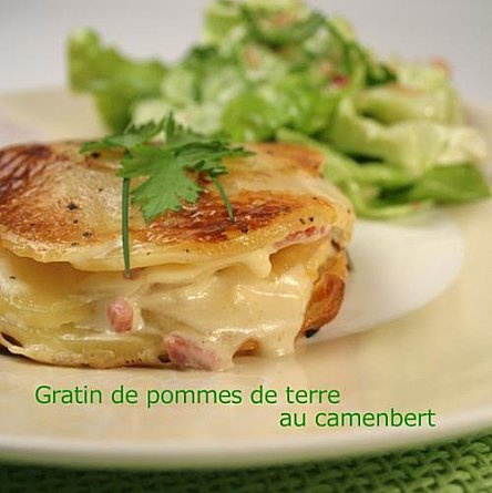 Gratin de pommes de terre au Camenbert
