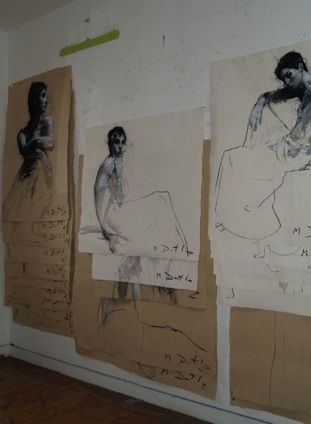 Studio of Mark Demsteader.