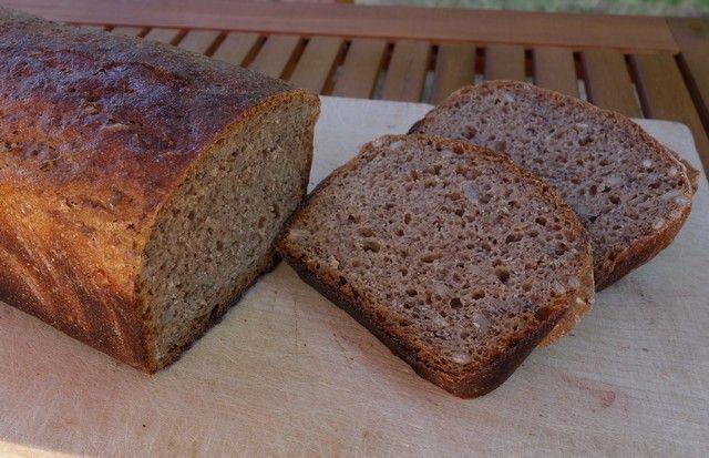 Kváskový chléb bez hnětení - fotopostup