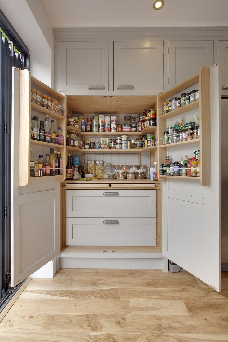 10+ Exquisite Linen Storage Ideas for Your Home Decor. Kitchen Larder  CupboardTall ...