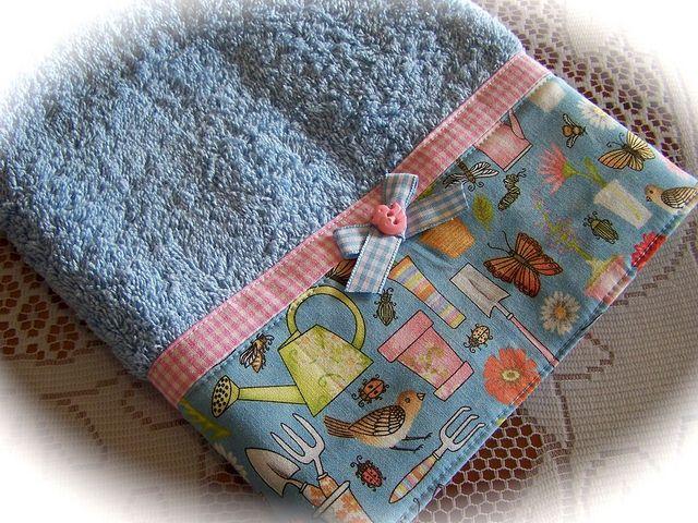 Pretty hand towel