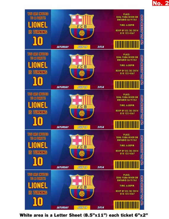 FC Barcelona Team Messi or Neymar birthday by StylishShapes