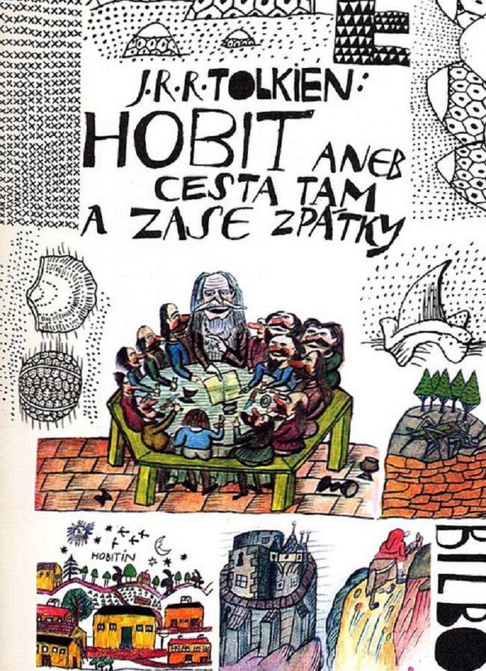 Tolkien:Hobit.Illustration Jiří Šalamoun