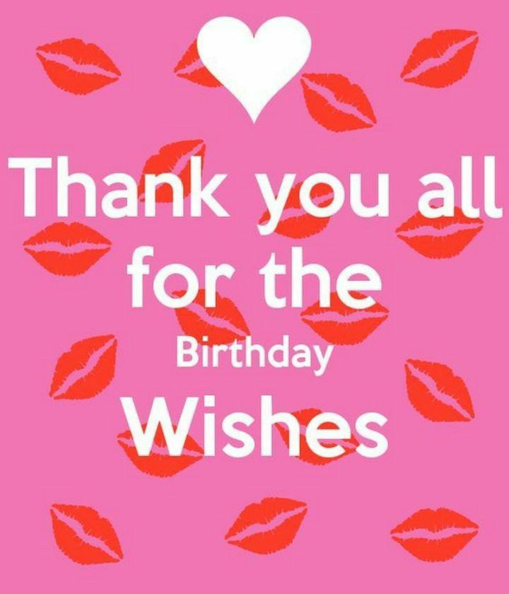 Pin By Wycked Wren On Hbd Thanks For Birthday Wishes Thank You For Birthday Wishes Birthday Wishes Messages