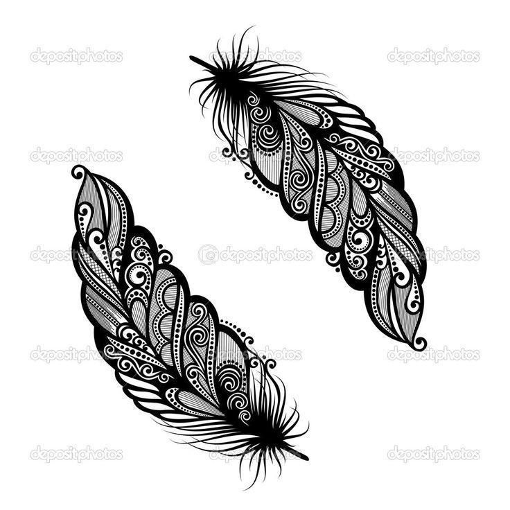 plumes décoratives hors pair — Illustration #32946125