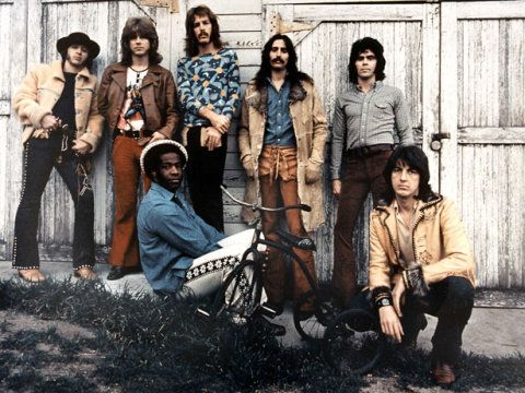 Rock group Three Dog Night, circa early 1970's.