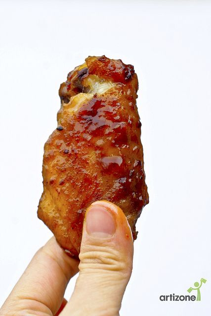 Honey Ginger Teriyaki Chicken Wings Recipe | We are making these for Super Bowl Sunday