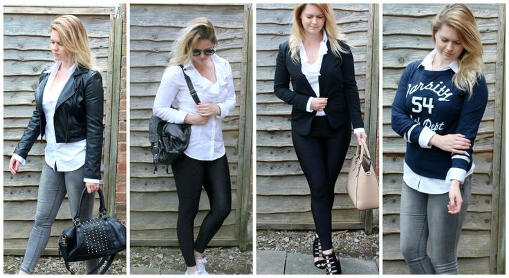 How I Style - Classic White Shirt | #Fashion POST by Elite Member @CarlyCx | #fbloggers