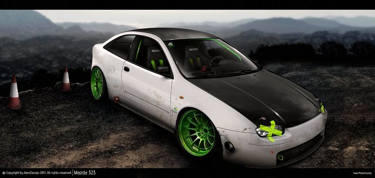Mazda 323 by AeroDesign94 on DeviantArt