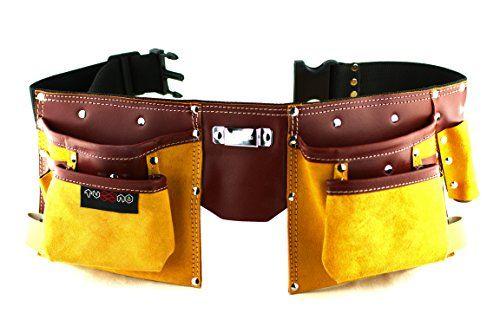 11 Pockets Carpenter Leather Tool Belt | Quick release wo... https://www.amazon.co.uk/dp/B01N9R7TK2/ref=cm_sw_r_pi_dp_x_sYz-zbQE6Q8HV