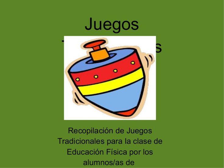 Recopilación de juegos tradicionales para la clase de Educación Física de los alumnos/as de tercero de Primaria del CEIP San Fernando de Dos Hermanas (Sevilla)