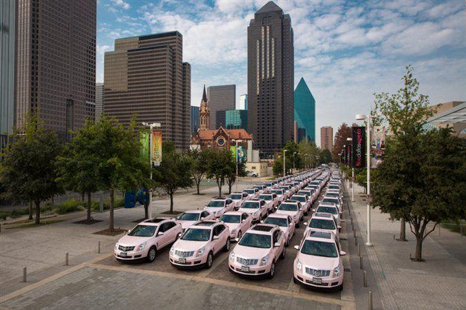 Mary Kay Blog | Beauty That Counts Cadillac parade!