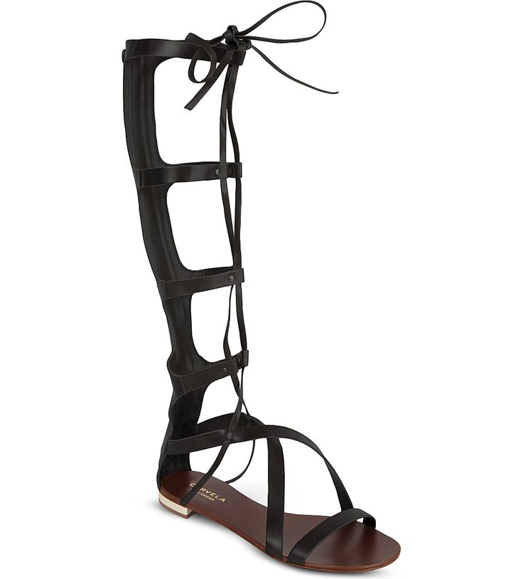 CARVELA - Kiki knee-high sandals | Selfridges.com