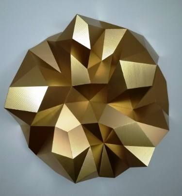 "Saatchi Art Artist Sassoon Kosian; Gold Sculpture, ""Divine Romance"" #art"