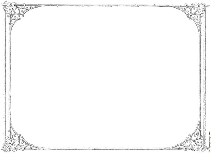 Formal Black And White Borders For Word