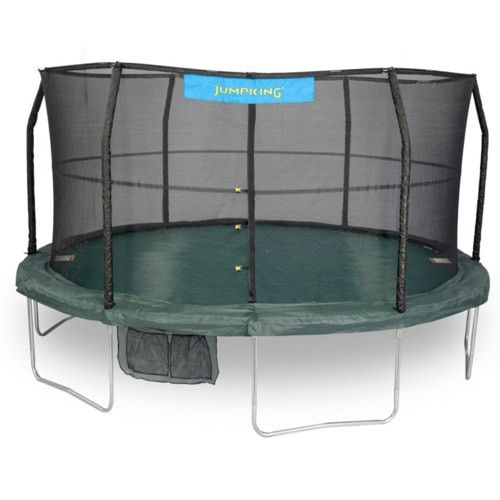 Jumpking 14 FT or 15 FT Trampoline Big Round with Enclosure Net Combo