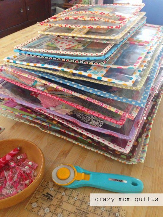 Organizando com transparência: muitos bags, de tamanhos variados!