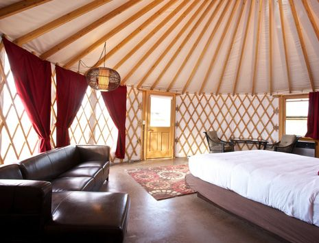 Desert Yurts in Cave B Inn & Spa, Quincy, WA, United States