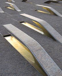Because the Pentagon Memorial is open 24/7/365, an induction lamp with an expected 100,000-hr life was selected as the primary light source.