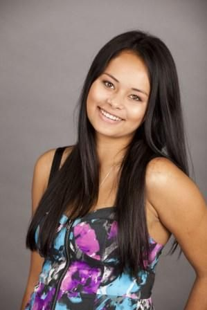 Young Actress Frankie Adams, born in Samoa. She stars as Ula in NZ's current soap drama Shortland Street.