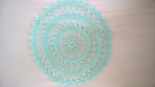 Doily from book Tatting Doilies & Edgings, edited by Rita Weiss.