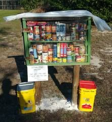 Hungry families, too proud or unable to get to a local food bank, are now getting some unexpected help in Hernando County.